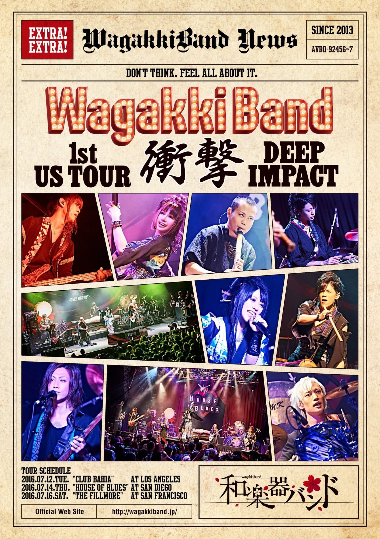 DVD(US Tour ドキュメント収録)