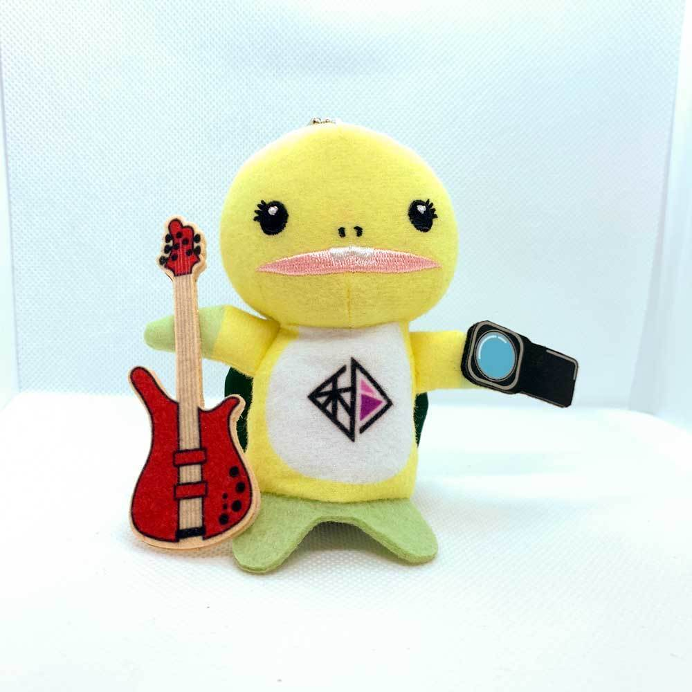 PREMIUM限定 亜沙カメくんフィンガーパペット【TOKYO SINGING】